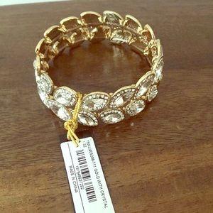 Bebe rhinestone bracelet stretchy